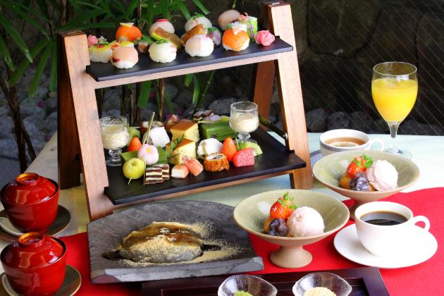 日本料理倉敷アフタヌーンティー