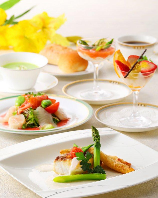 桜鯛と春の味覚プラン 〜ランチコース〜