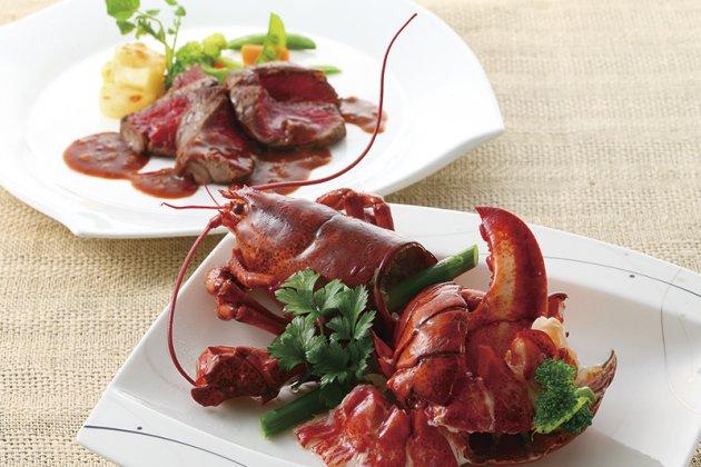 夏野菜と国産ビーフ・オマール海老フェア